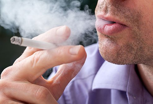 Cigarette smoking dries out your mouth.