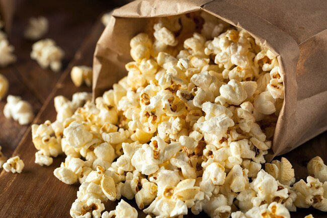 Go ahead and say yes to popcorn -- but hold the salt and butter.