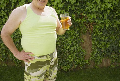 The average 12-ounce can of beer has about 150 calories