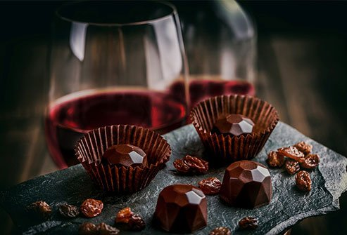 Catechins in chocolate may help protect against heart disease.