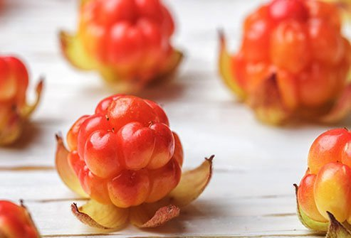 A 2/3-cup serving of these peach-colored berries has twice the vitamin C of a glass of orange juice.