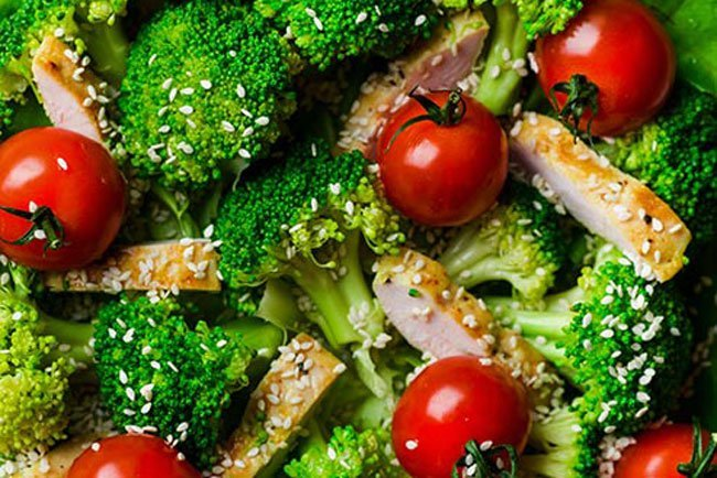The DASH diet lowers blood pressure and improves insulin sensitivity.