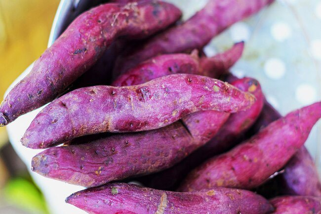 Vitamins in sweet potatoes is key for healthy eyesight and skin.