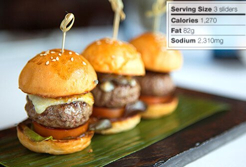 Photo of cheeseburger sliders.