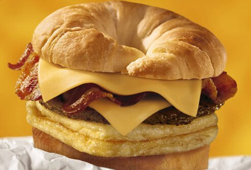 Burger King's Double Crossan'wich.