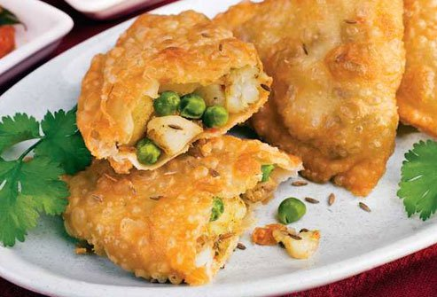 Samosas are carb heavy and deep fried.