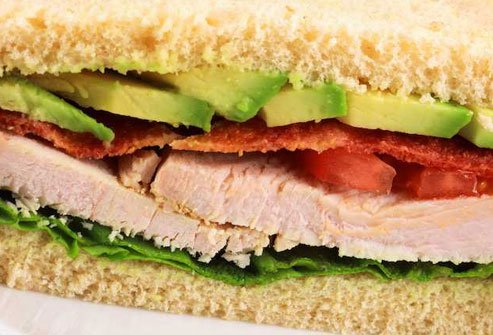 Half a turkey sandwich may help you sleep.