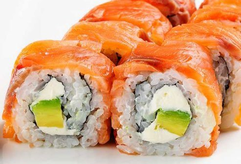 The Philly roll is one of those sushi inventions that may fool you into thinking it is healthy.