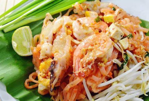 Pad Thai is a healthy option as long as you watch portion sizes.