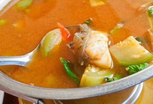 Jungle curry is lower in fat and calories than traditional curries that are loaded with fat.