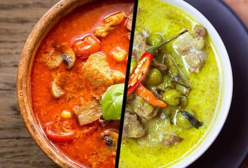 Choose grilled or barbecued items instead of fatty curry dishes.