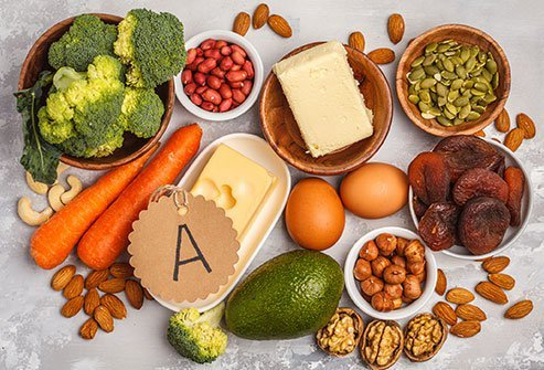 Vitamin A helps maintain a normal circadian rhythm.