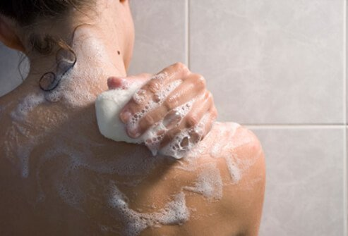Boils can be prevented with good hygiene and the regular use of antibacterial soaps to prevent bacteria from building up on the skin.