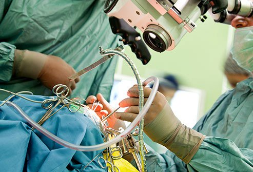 Surgery is often the first step in brain cancer treatment.