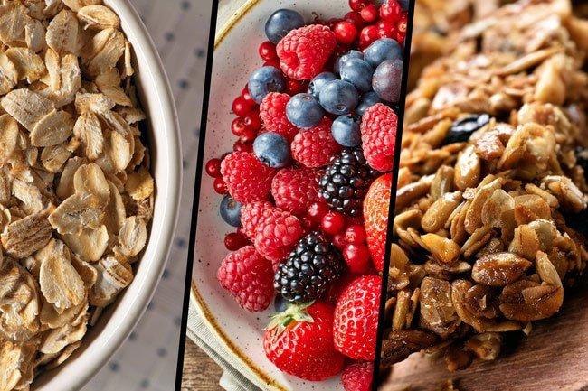 Choose complex carbs instead of simple carbs to provide you with steady energy throughout the day.