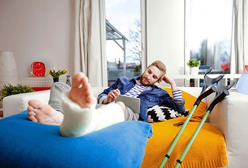 Give yourself ample time to recover after suffering a bone fracture.