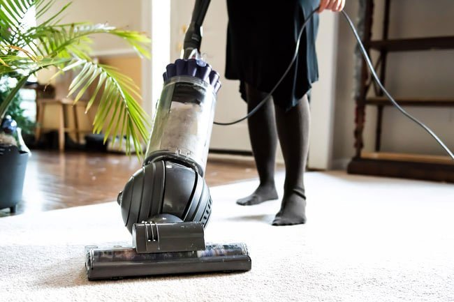 Vacuuming your home can burn between 100 and 200 calories.