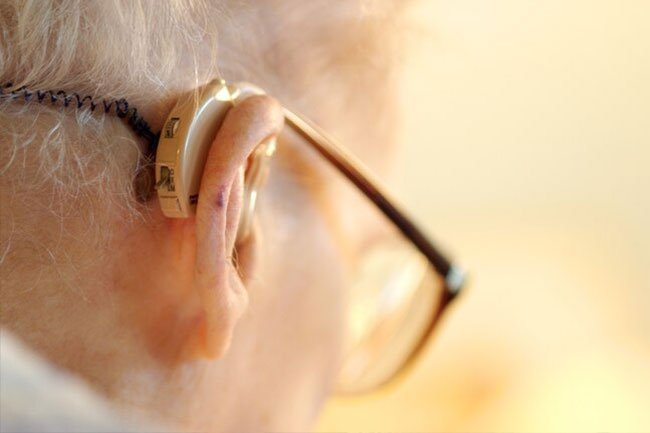 Hearing loss is common as we get older.
