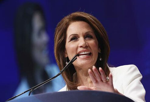 Congresswoman Michele Bachmann addressed her migraine headaches while she was on the presidential campaign trail in 2011.