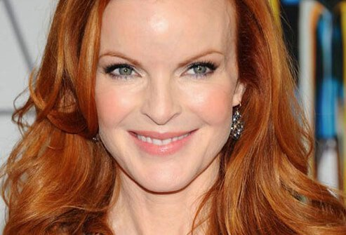 Actress Marcia Cross seemed unstoppable as perfectionist Bree Van de Kamp on the TV show Desperate Housewives.