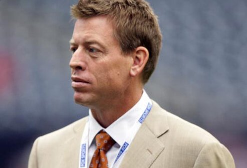 Hall of Fame quarterback Troy Aikman started having headaches when he was a boy.