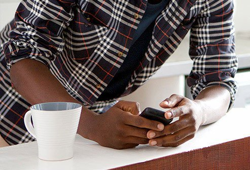 Leaning on your elbows while texting may cause health problems.