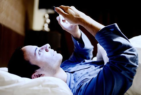 Minimize smartphone browsing after dark.