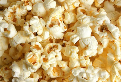 Along with the crunch, popcorn packs fiber, which will satisfy you longer than a lot of snack foods.