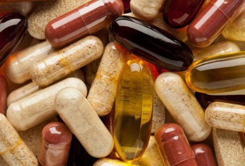 Supplements, such as fish oil and glucosamine, can help with daily pain.