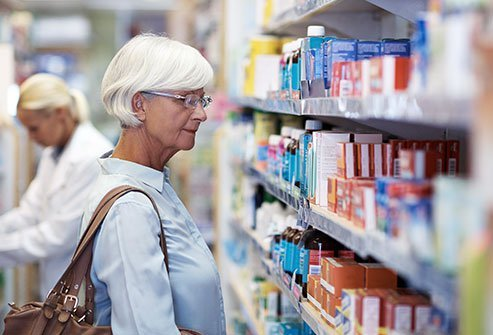 Your doctor may recommend over-the-counter drugs for pain relief.