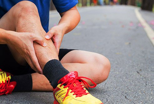 Shin splints cause pain in the front of the lower legs.
