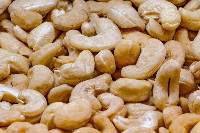 The shells of presteamed cashews contain urushiol, a toxin that is also found in poison ivy.