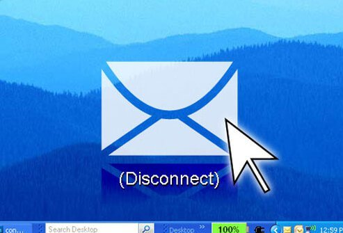 A disconnect icon.