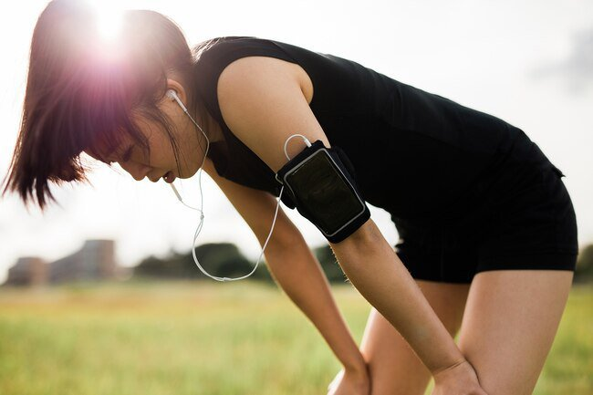 Working out too hard is one potential cause of blood in urine.