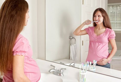 The risk of gingivitis and tooth decay increase during pregnancy.