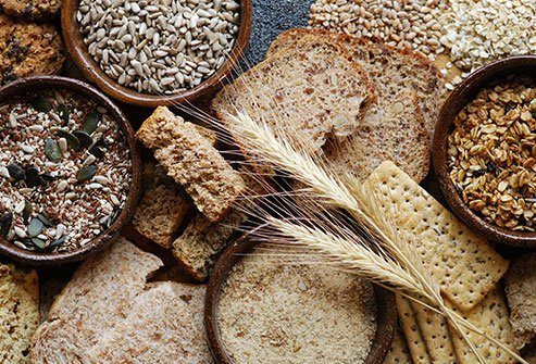 Whole grains bring many of the same healthful benefits of vegetables.