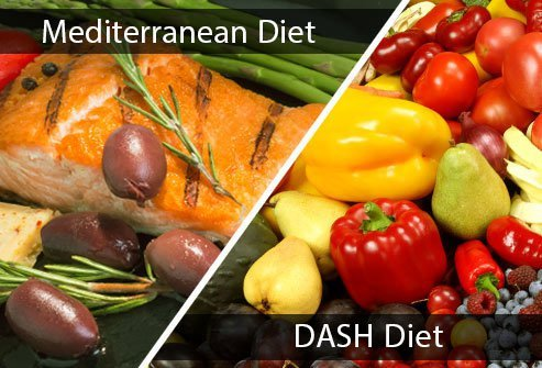 The MIND diet mixes the Mediterranean and DASH diets for better cognitive health.