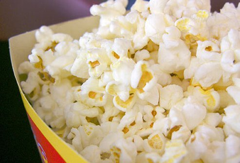 Popcorn is part of the low-fat carbs.