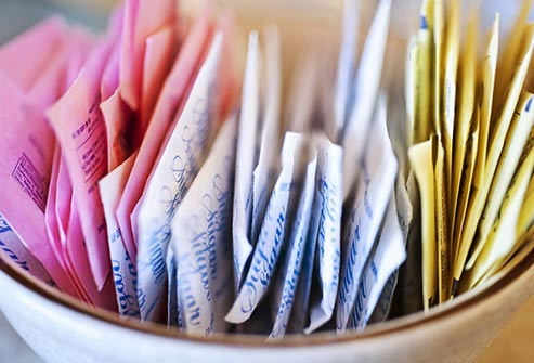 There is no proof that artificial sweeteners cause cancer.