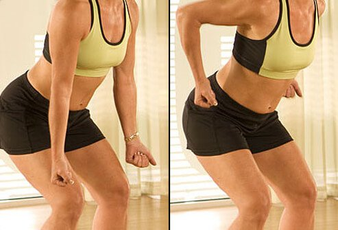 If you have trouble doing bent-over rows while standing up, support your weight by sitting on an incline bench, facing backward.