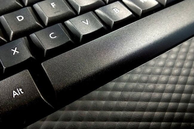 To stave off problems like carpal tunnel syndrome, use a wrist rest for your keyboard ergonomics.