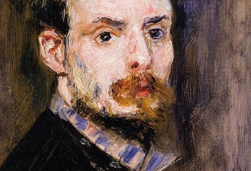 Painter Pierre-Auguste Renoir.