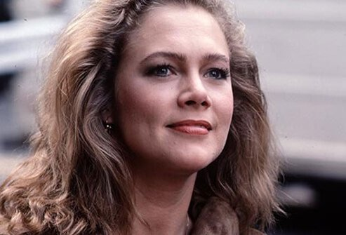 Actress Kathleen Turner.