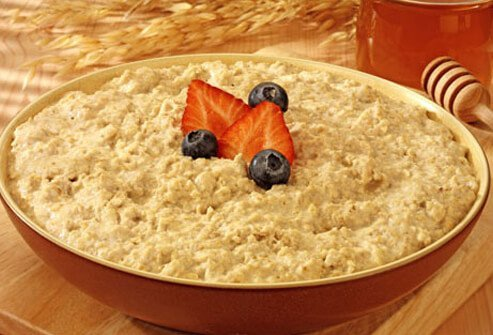 Photo of bowl of oatmeal