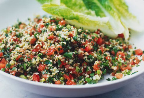 Photo of tabouli salad.