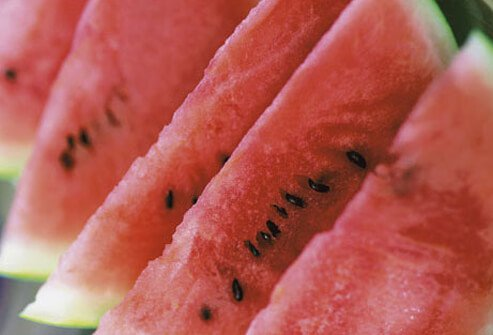Photo of watermelon slices.