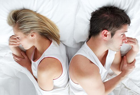 Sexual dysfunction symptoms affect both men and women.