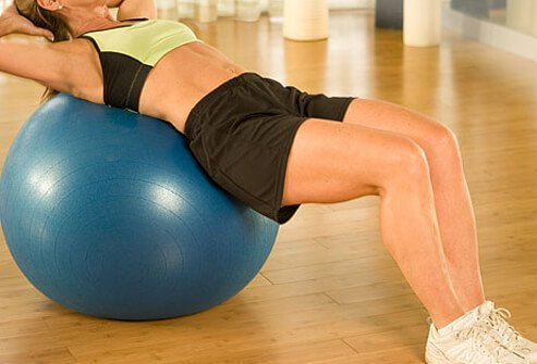 Stability balls and Bosu balls, straps and bands, and joining a gym can add zip to a workout.