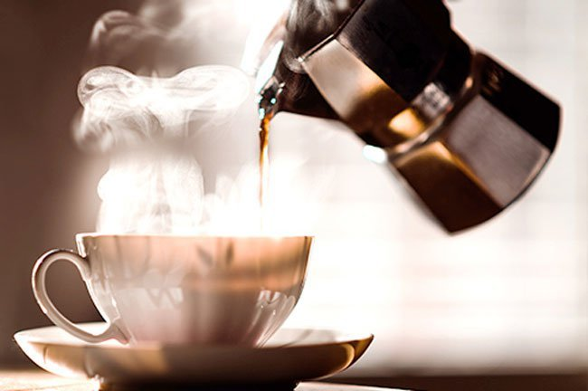 Caffeine increases blood pressure and heart rate, both of which are bad for AFib.
