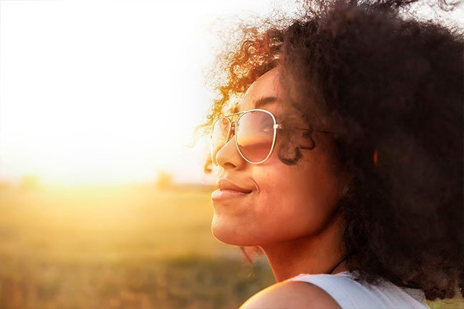 We make vitamin D when we get some sun, but you can also take it as a supplement.